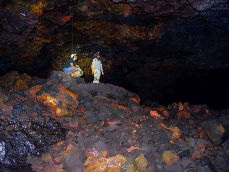 Spéléo Musique dans les Tunnels de lave SpeleoCanyon