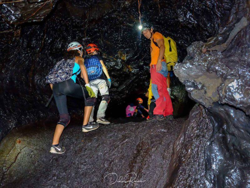 SpeleoCanyon La Réunion Tunnels de lave du Grand Brûlé
